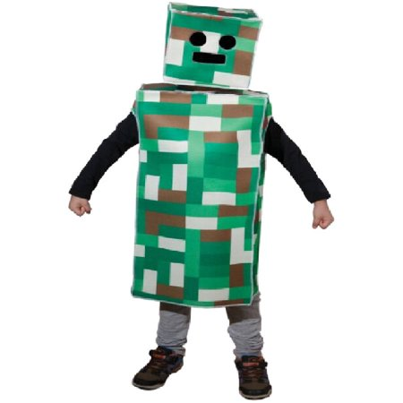 Pixel Monster Boys Child Halloween Costume (Pixel Art De Halloween)