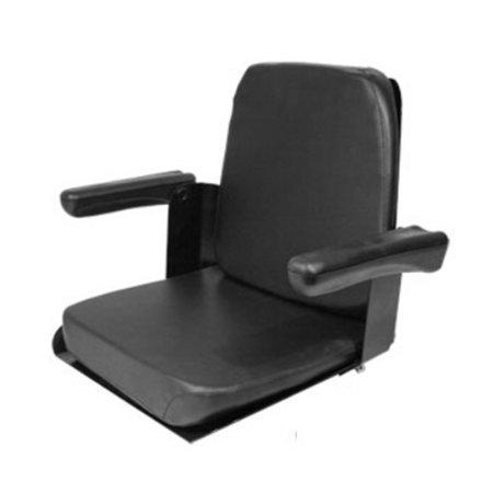 CS140-1V New Allis Chalmers Case IH Seat w/ Flip Up Arms 170 175 180 185 190