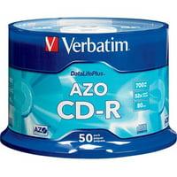 Verbatim 94523 700MB  52x DatalifePlus CD-Rs, 50pk Spindle