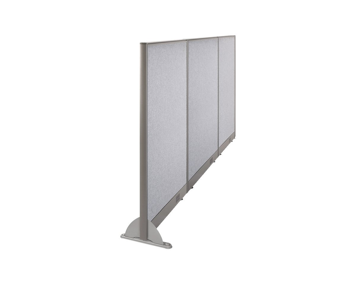 "102""W x 48""H Wall Mounted Office Partition Cubicle Panel Room Divider by GOF"