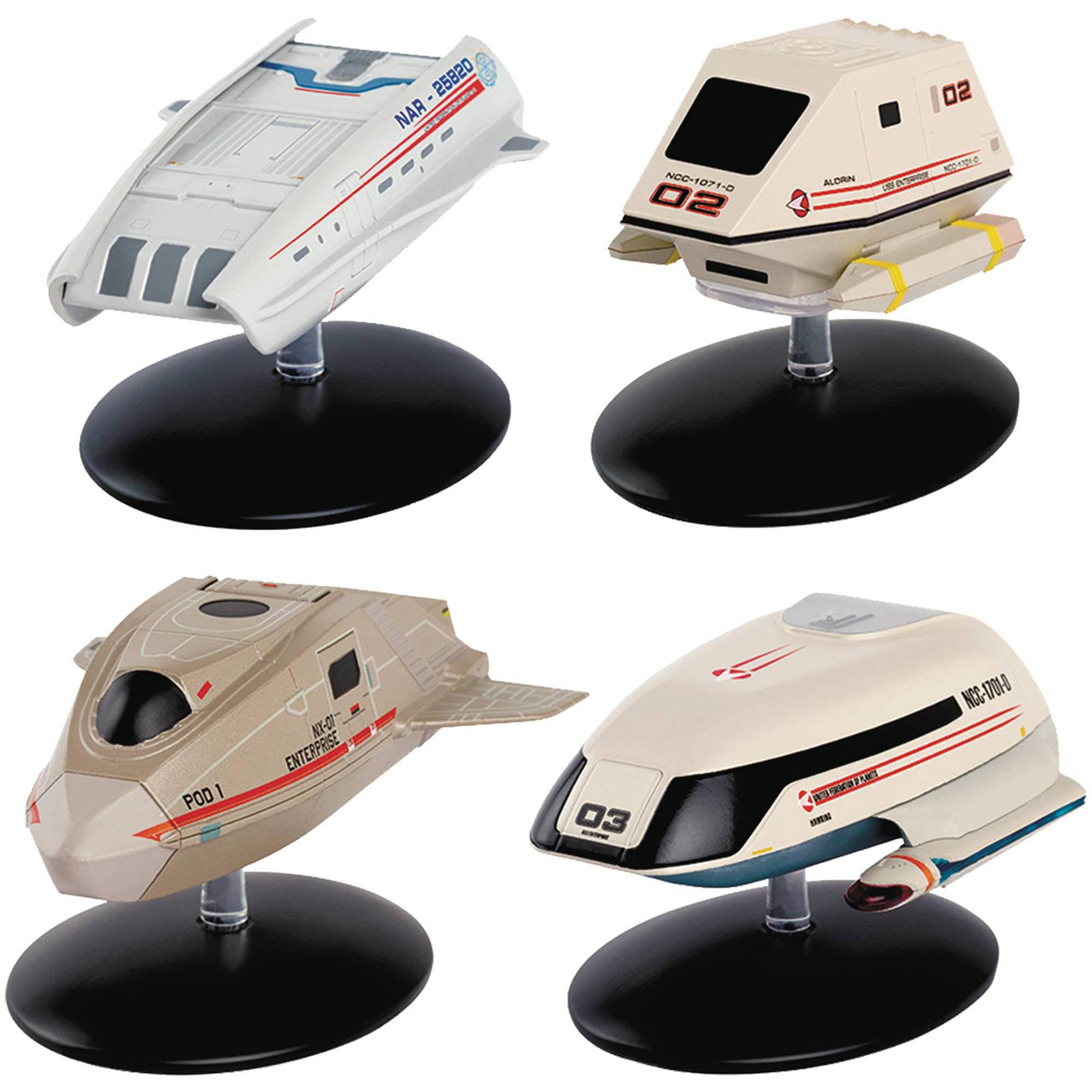 Diamond Toys Star Trek Starships Figurine Set #3 Shuttlec...