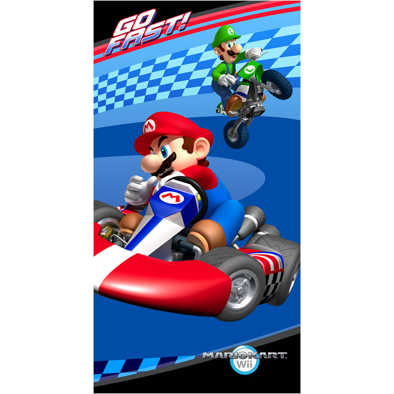 Mario Kart Go Fast Kids Slumber Bag with Bonus Tote