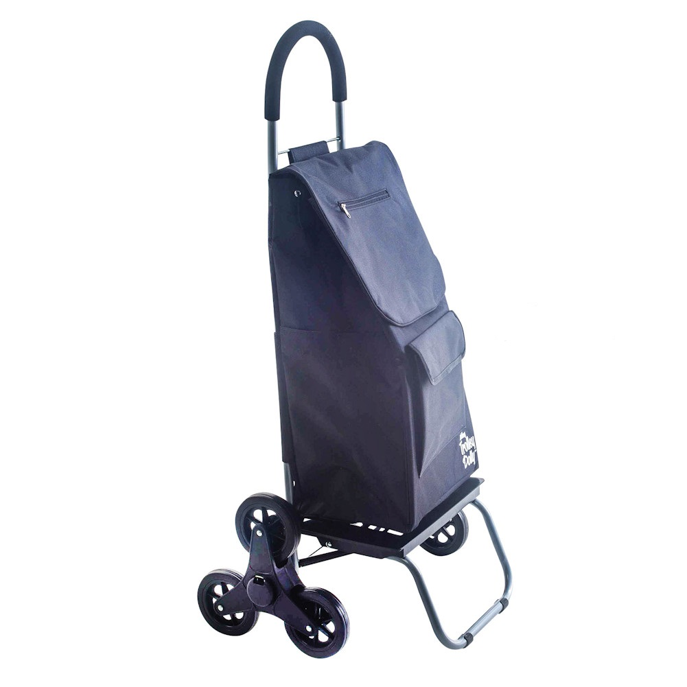 dbest Stair-Climbing Trolley Dolly Bag - Rolling Foldable...