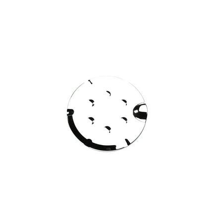 Putco 401989 Fuel Door Cover, Chrome ()