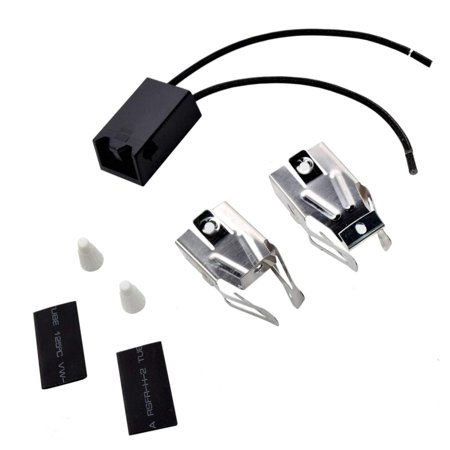 HQRP Range Top Burner Receptacle Kit Replacement for Whirlpool 1346*0A 1346W0A 1347*0A 1355*1A 1355*2A 1355*3A 1355W1A 1355W3A 1395*0A 1395*2A 1395W0A 1395W2A Oven Stove plus HQRP