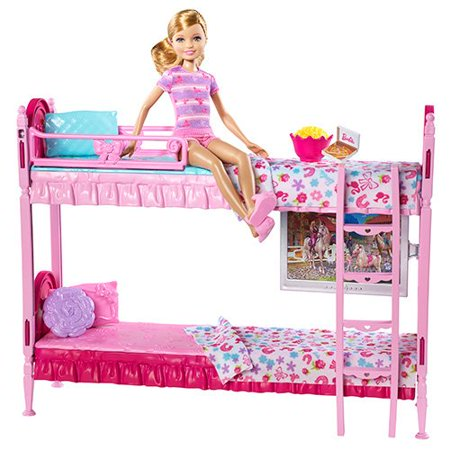 Barbie Sisters Bunk Beds Play Set