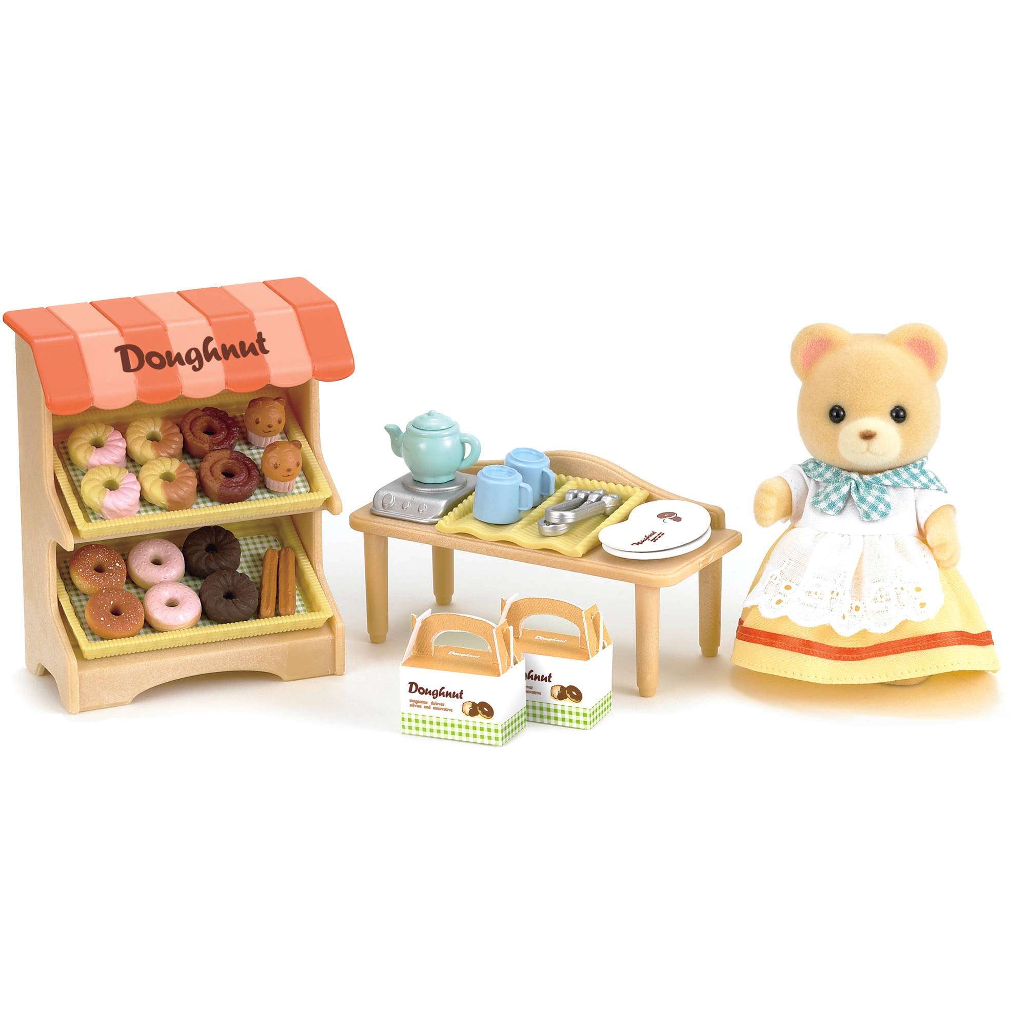 calico critters bedroom calico critters doughnut walmart 10974