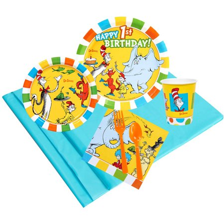 Dr. Seuss 1st Birthday Value Pack (Dr Seuss Party Supplies 1st Birthday)