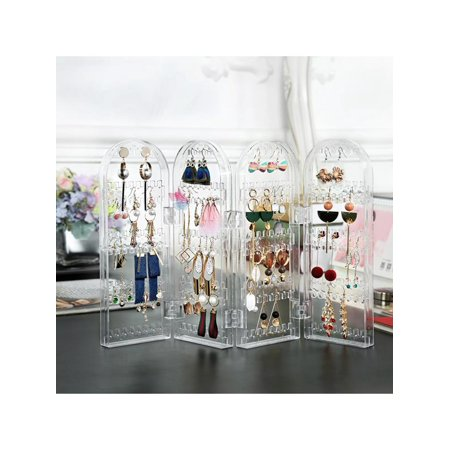 Screen Stud Foldable Jewelry Display Stand Unit Earring & Bracelet Holder/Storage/Organiser/Boxes