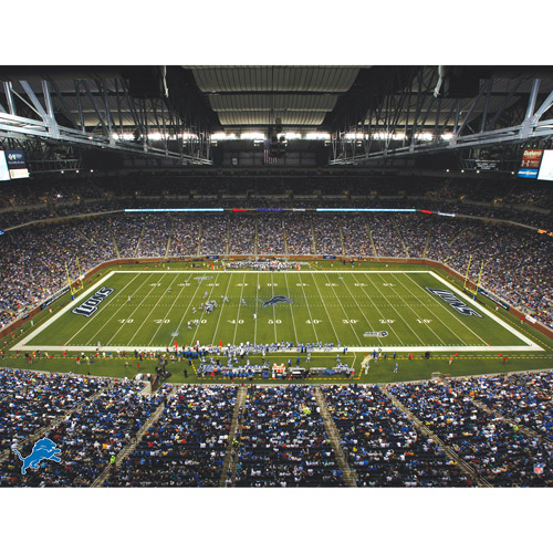 Artissimo Designs NFL Lions Stadium Canvas, 22x28