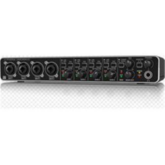 Audiophile 4 x 4 24-Bit 192 kHz USB Audio MIDI Interface with MIDAS Mic Preamps by PlugIt