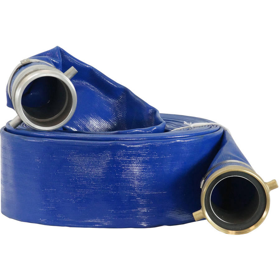 "DuroMax 4"" x 50' Gas Water Pump Discharge Hose"