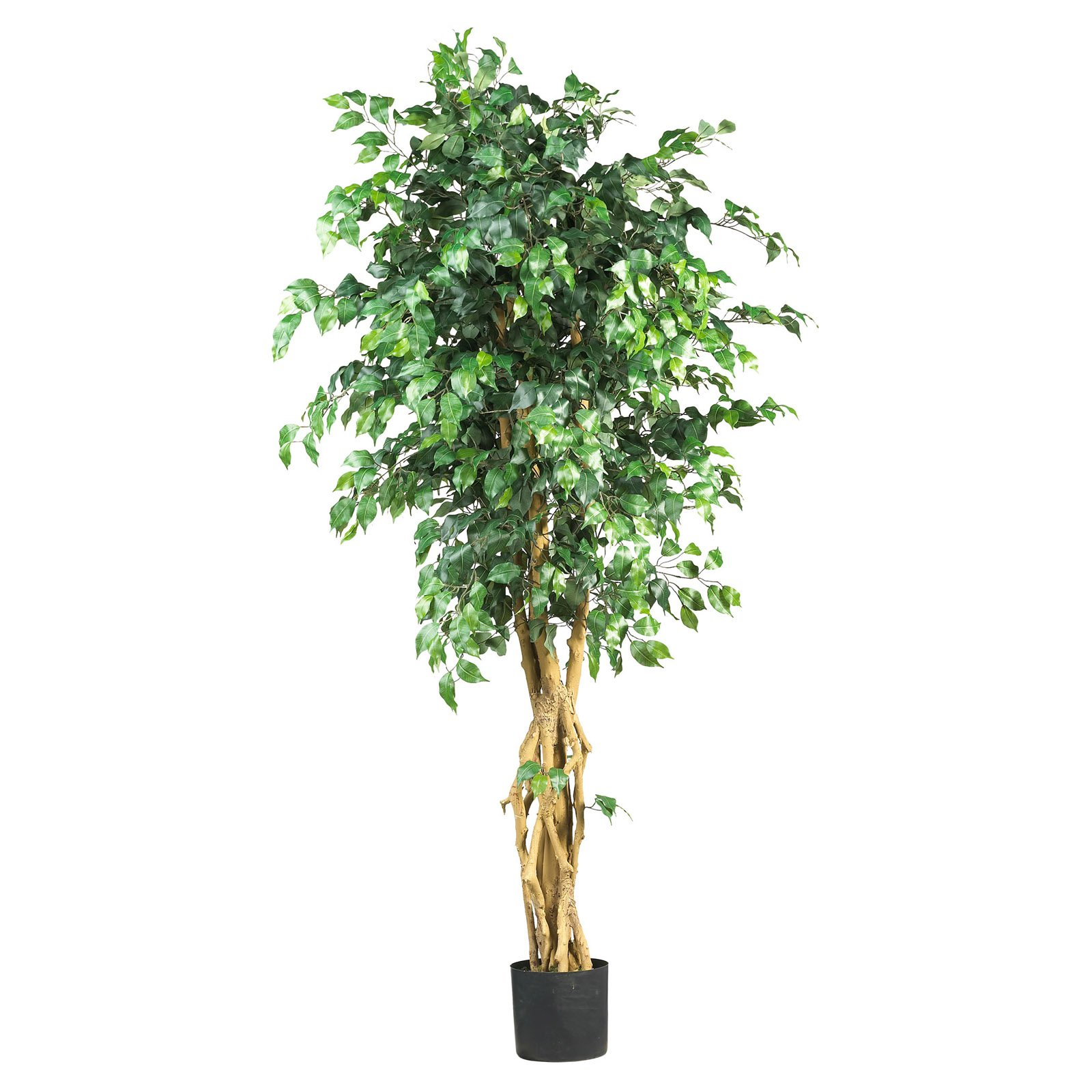 Nearly Natural 6 ft. Palace Style Ficus Silk Tree