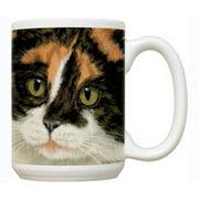 Fiddler's Elbow FEC74 Calico Cat 15 oz Mug