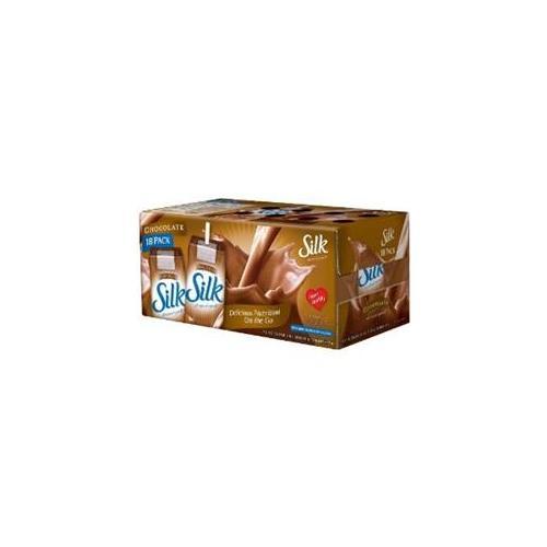 Silk Chocolate Soymilk Natural 8-Ounce Aseptic Cartons