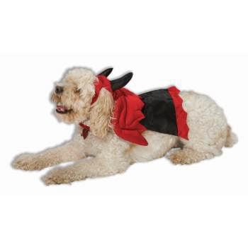 DEVIL PET COSTUME-SM (PROMO) - Dog Devil Costume