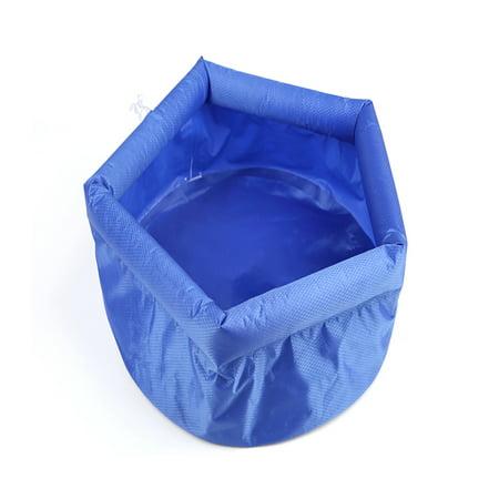 Vingtank Outdoor Folding Bucket Camping Travel Wash basin Inflatable Bucket - image 1 of 8