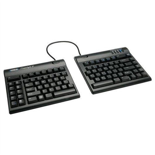Kinesis Corporation KB800PB-US The Kinesis Freestyle2 Keyboard Offers Up To 9 Inches Of Complete Separation Of
