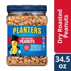 Planters Honey Roasted Peanuts 34.5 oz Jar - Walmart.com on capri sun nutritional information, peanut m & m's nutritional information, coca-cola nutritional information,