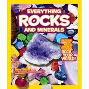 National Geographic Kids Everything (Paperback): National Geographic Kids Everything Rocks & Minerals (Paperback)