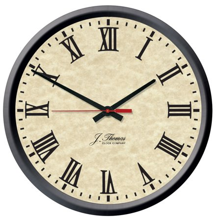 Franklin Electric Wall Clock 16   By J  Thomas   Made In The Usa