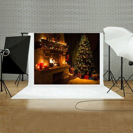Studio C Christmas.Christmas Backdrops Vinyl Wall 5x3ft Digital Background Photography Studio C