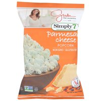 Simply 7 Parmesan Cheese Popcorn, 4.4 Oz, Pack Of 12