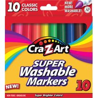 Cra-Z-Art Super Washable Markers, 10 Count