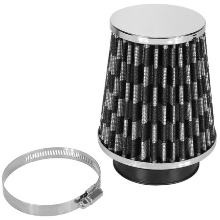 HURRISE Car High Flow Cold Air Filter Intake Induction Kit High Power Mesh Cone, Intake Air Filter, Intake Induction Filter - image 4 of 7