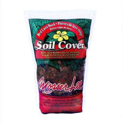 Mosser Lee ML1140H Red Lava Rock Soil Cover, 1.5 dry qt.