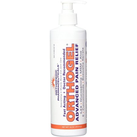 Orthogel  Avanced Pain Relief Gel Pump 16 oz