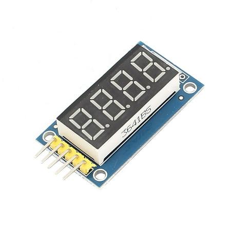 - Unique Bargains Red Digital 5-Pin 4-Bit Tube Parallel  Display Module DC 3.3V-5V
