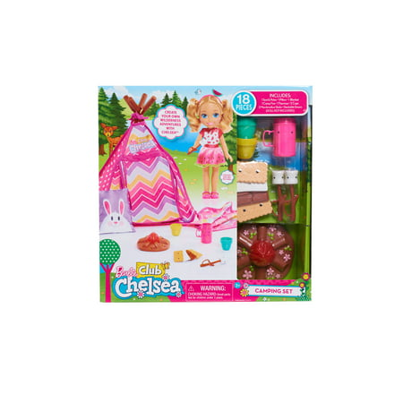 "Barbie Chelsea Camping Set, 14"" Scale"