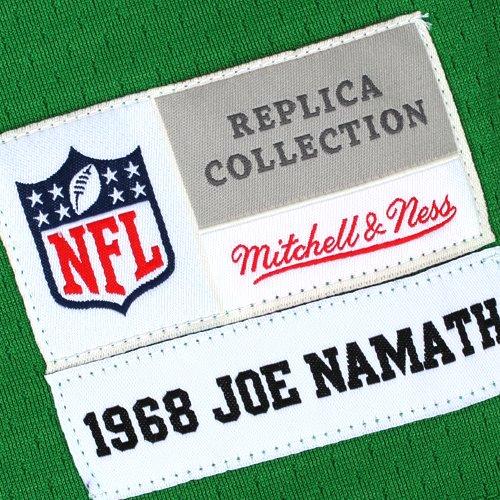 Joe Namath New York Jets Mitchell   Ness 1968 Retired Player Vintage  Replica Jersey - Green - Walmart.com 0967b20bf