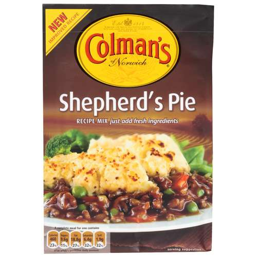Colman's Sheppard's Pie Recipe Mix, 50g