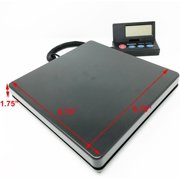 Weighology Heavy Duty Digital Postal Parcel Scale UPS USPS Post Office Scale 110lb Capacity