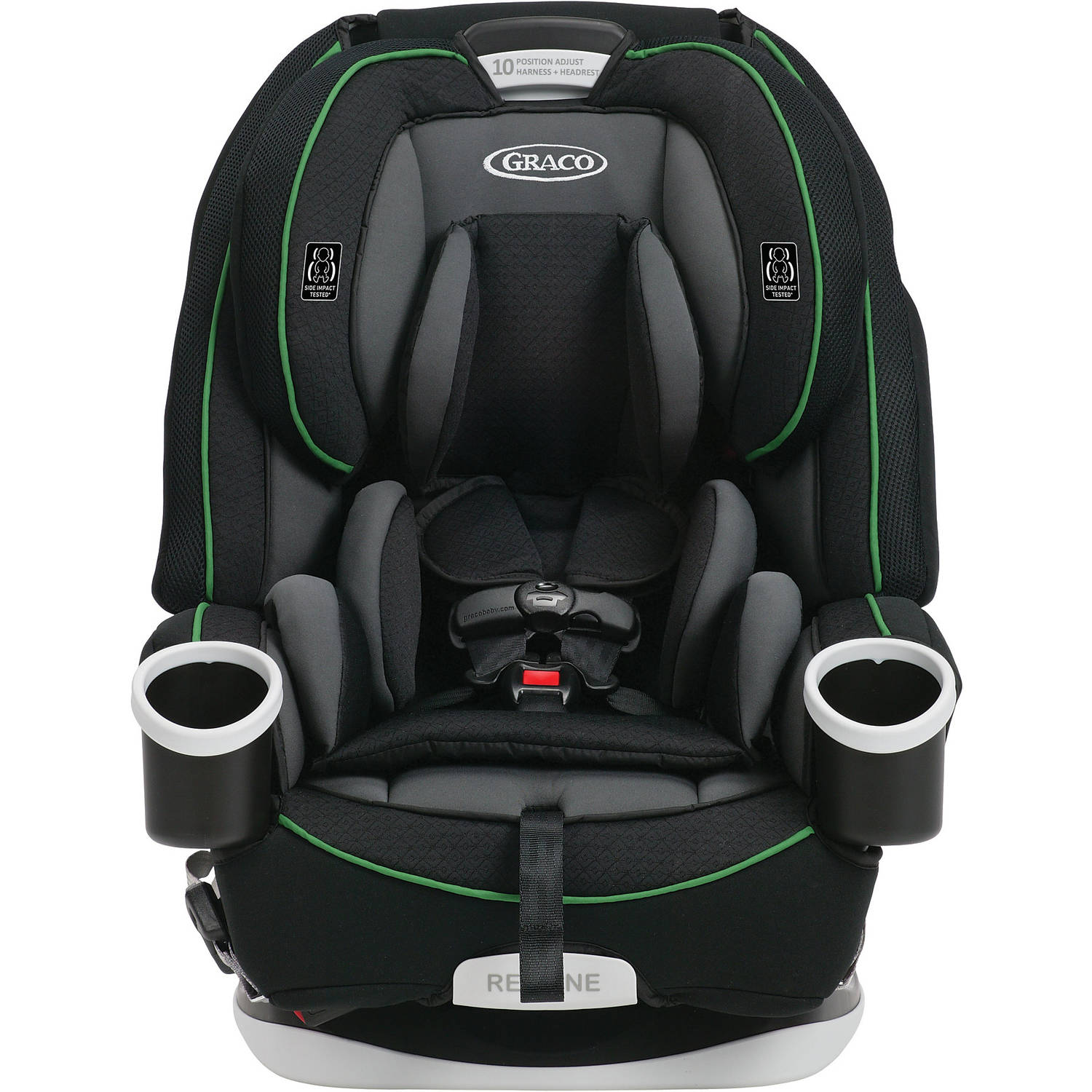 5-in-1 Convertible Car Seat Infant Kids Adjustable Safety