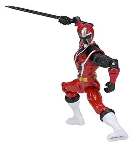Power Rangers Ninja Steel 5-inch Red Ranger Action Hero Figure