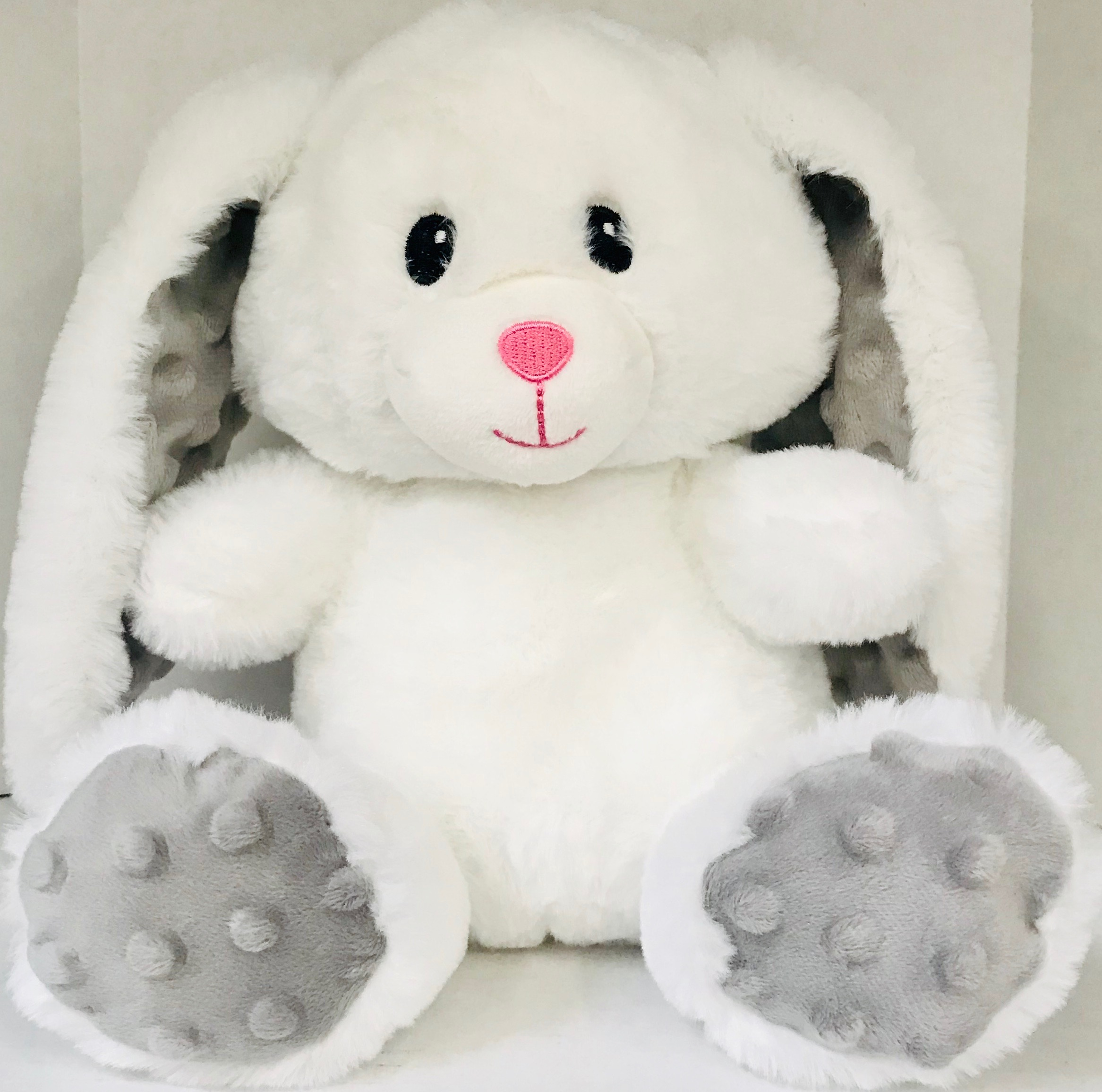 Spark Create Imagine White Bunny Plush Toy