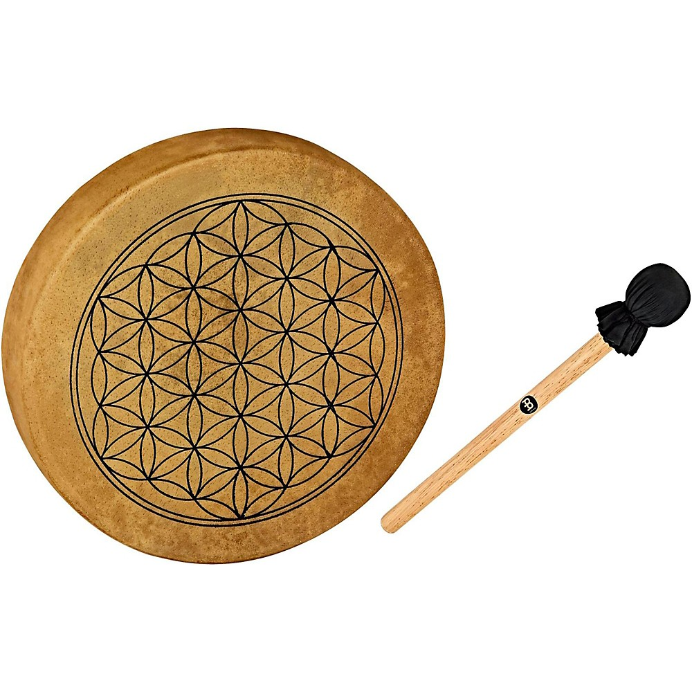 Meinl Sonic Energy HOD15-FOL 15-Inch Native American Style Hoop Drum, Flower of Life Symbol