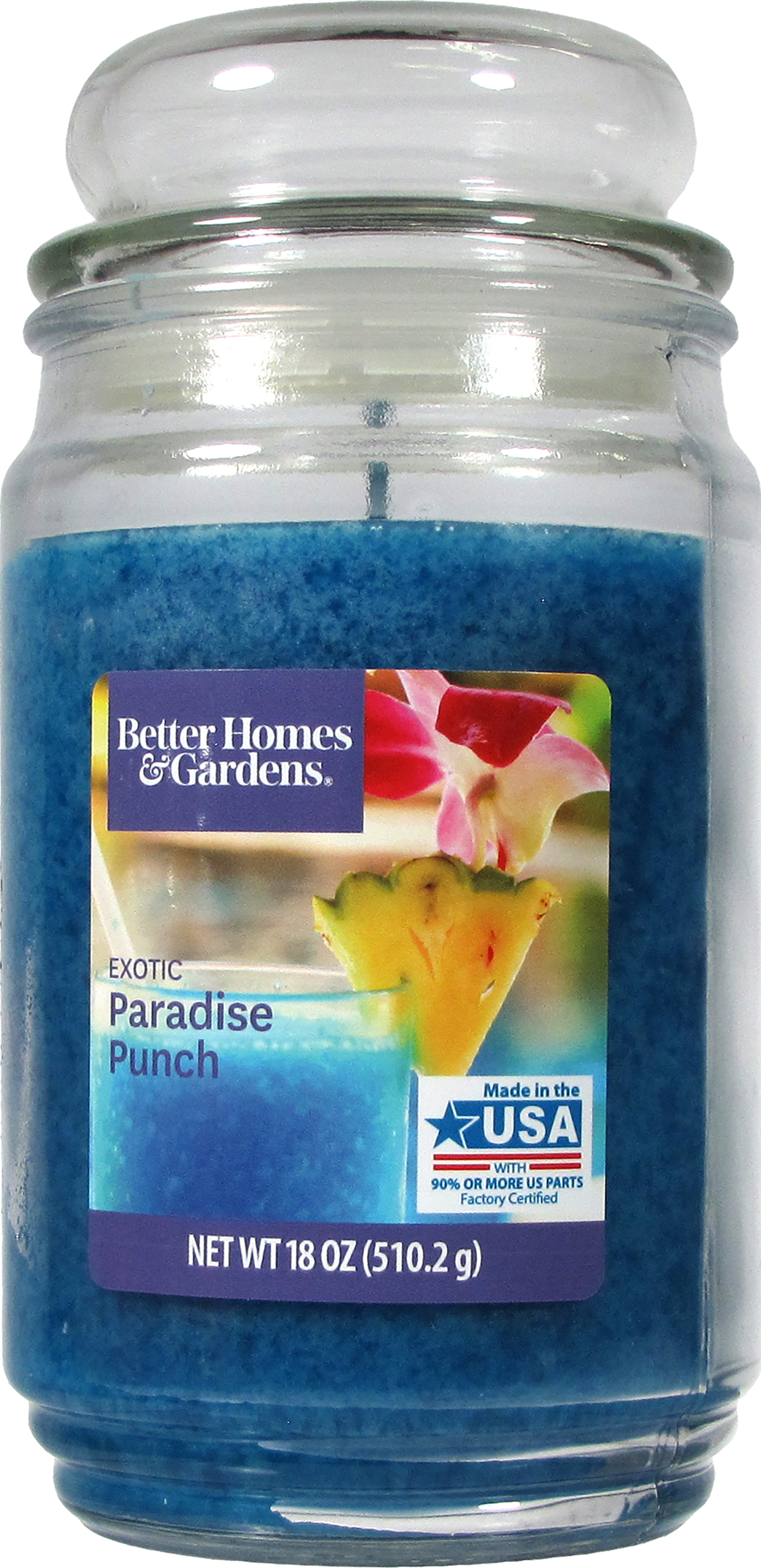 Better Homes and Gardens 18-Ounce Candle, Exotic Paradise Punch by Candle-lite