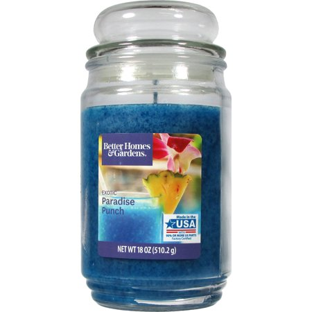 Better Homes & Gardens Exotic Paradise Punch Single-Wick 18 oz. Jar Candle](Garden In A Jar)