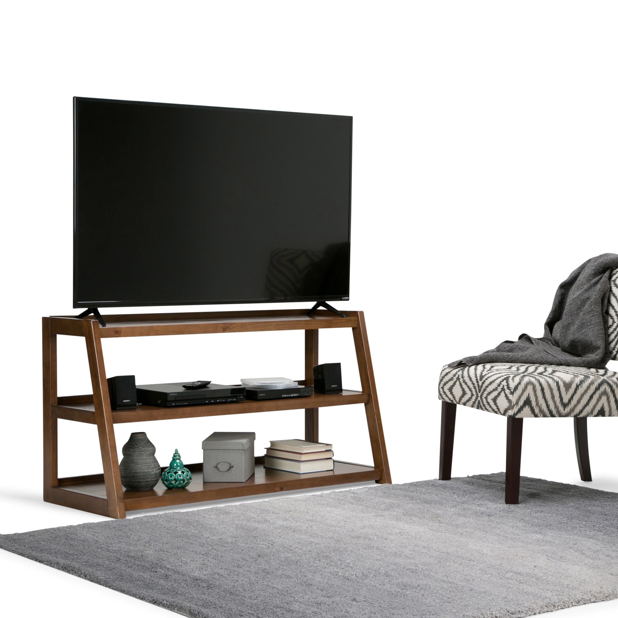 WyndenHall  Hawkins 48-inch TV Media Stand for up to 52-inch TV's