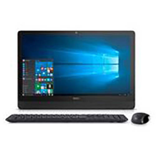 """Dell Black Inspiron 3459 All-in-One Desktop PC with Intel Core i5-6200U Processor, 8GB Memory, 23.8"""" touch screen, 1TB Hard Drive and Windows 10 Home"""