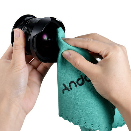 Andoer Cleaning Tool Screen Glass Lens Cleaner for Canon Nikon DSLR Camera Camcoder iPhone iPad Tablet -
