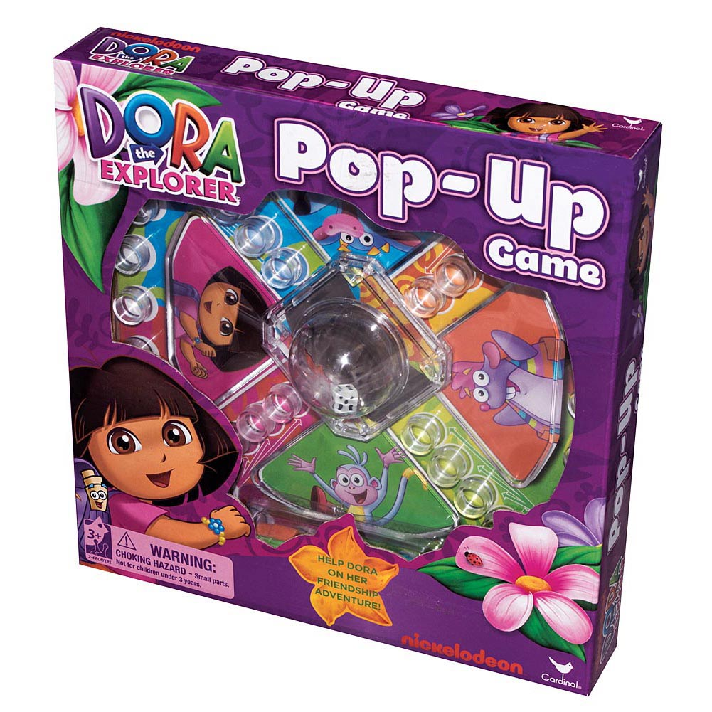 Dora Pop-Up Game,  Games by Cardinal