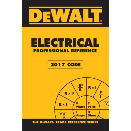 Dewalt Electrical Professional Reference - 2017 NEC - Halloween Nyc 2017 Photos