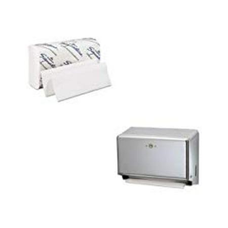 Shoplet Best Value Kit - San Jamar T1950XC Mini C-Fold or Multifold Paper