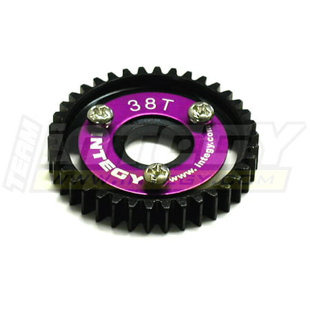(Integy RC Toy Model Hop-ups T3180 38T Steel Spur Gear for 1/10 Revo & Slayer(both))