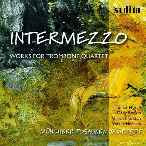 Munich Trombone Quartet - Intermezzo [CD]